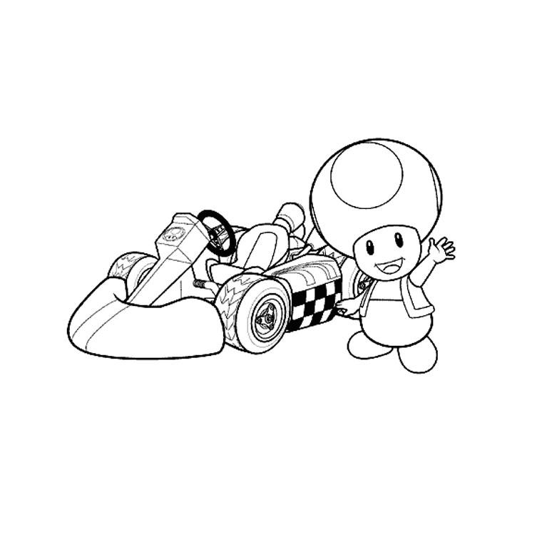 dessin de mario kart 8 deluxe