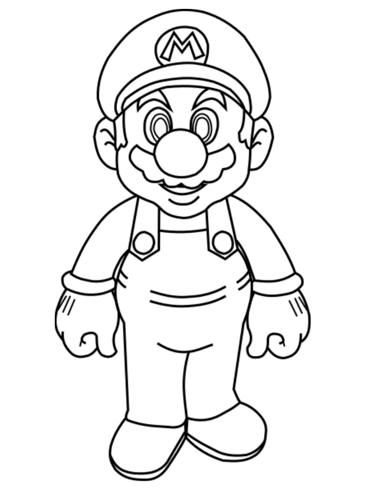 Coloriage En Ligne Gratuit Mario.Dessin De Mario Les Dessins Et Coloriage