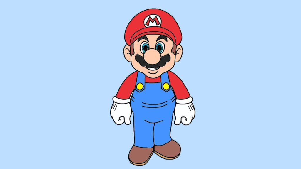 Dessin De Mario Les Dessins Et Coloriage
