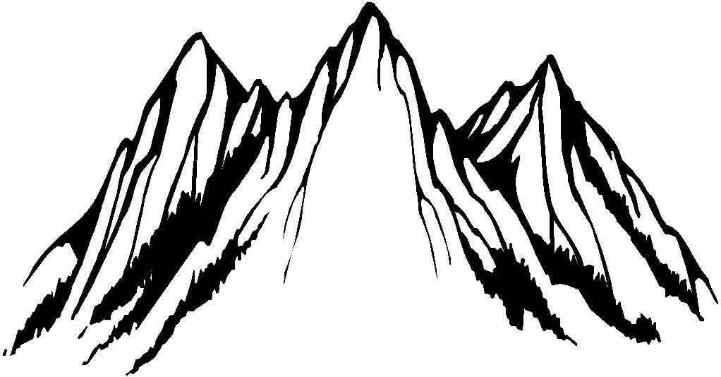 dessin de montagne