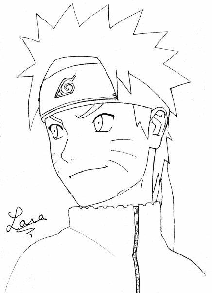 Dessin De Naruto Les Dessins Et Coloriage