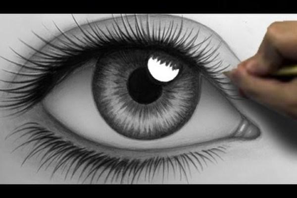 dessin de oeil