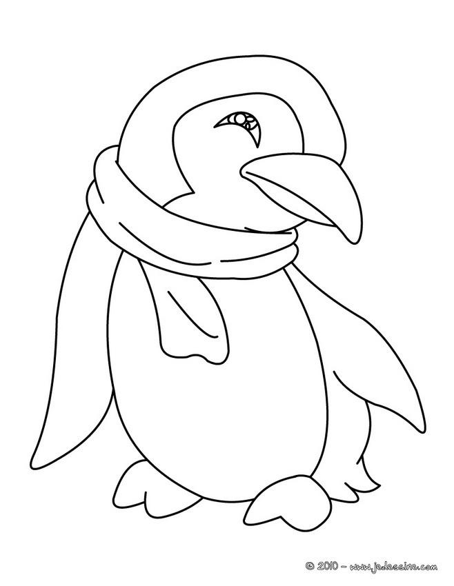 dessin de pingouin