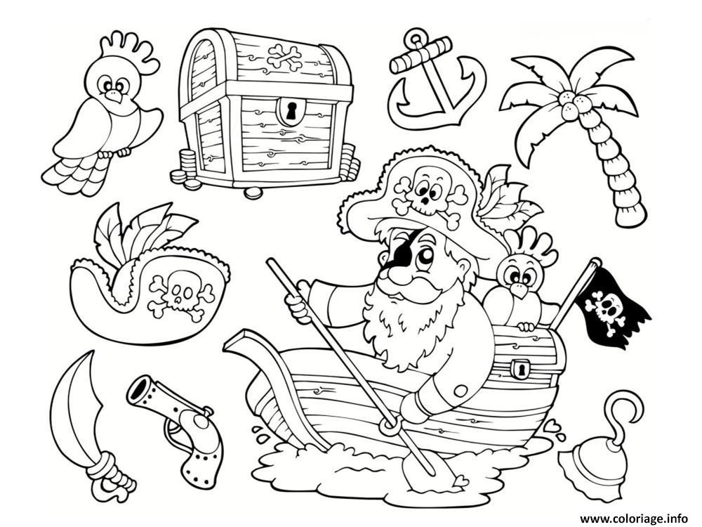 Coloriage Chat Pirate.Dessin De Pirate Les Dessins Et Coloriage