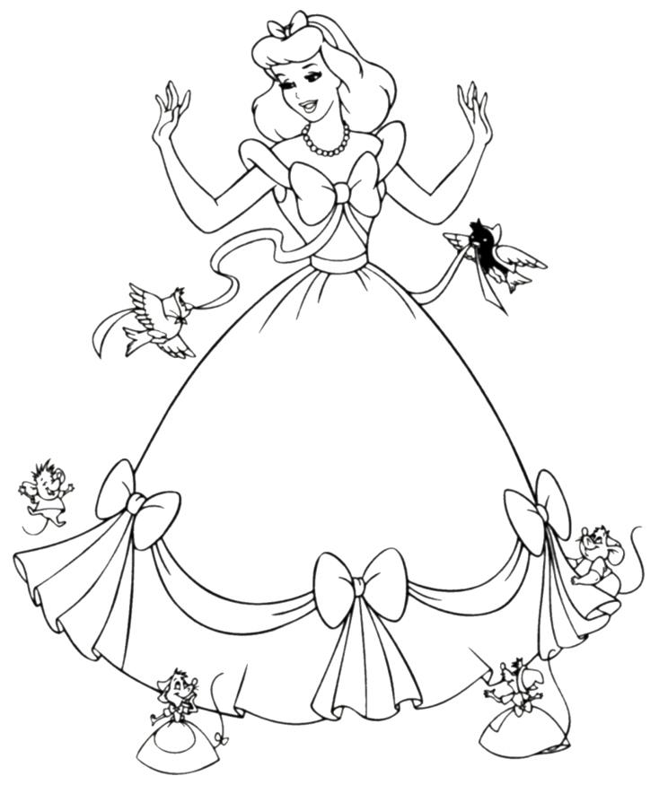 Dessin De Princesse A Imprimer Les Dessins Et Coloriage