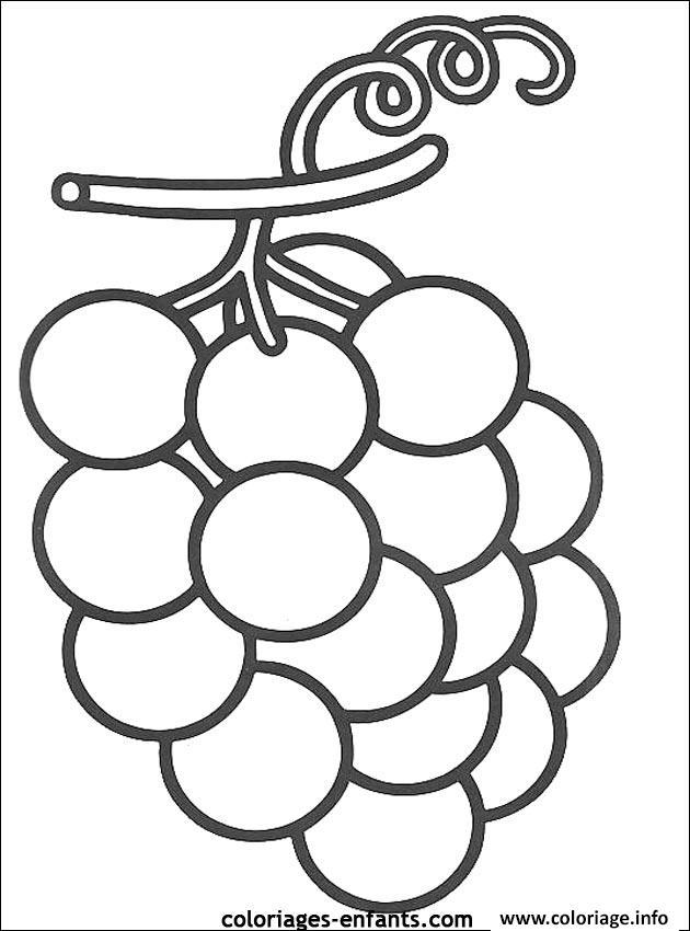 dessin de raisin