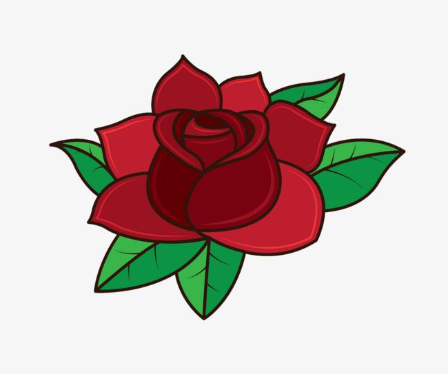 Dessin De Rose Rouge Les Dessins Et Coloriage