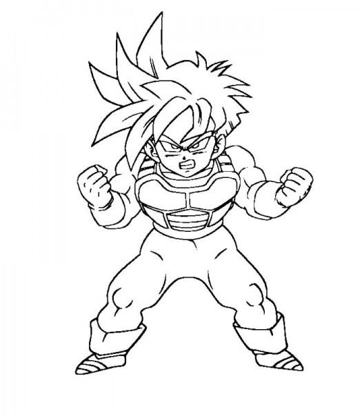 dessin de sangoku