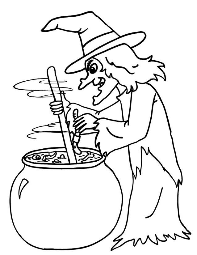 dessin de sorciere