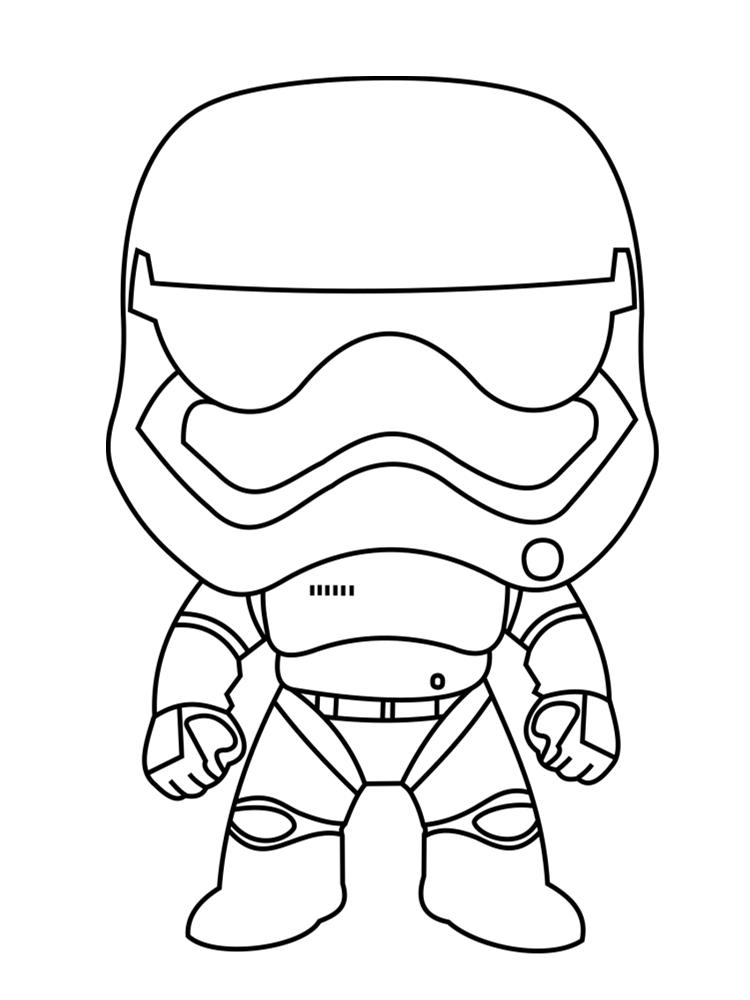 dessin de star wars - Les dessins et coloriage
