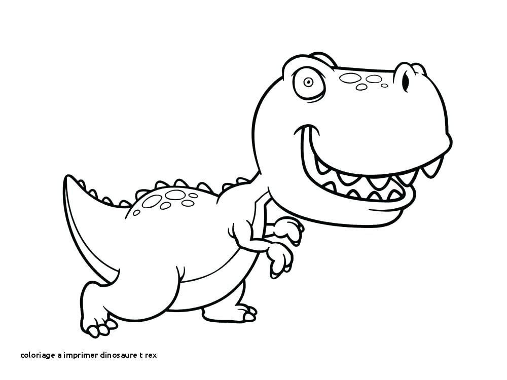 Coloriage Facile Dinosaure.Dessin De T Rex Facile Les Dessins Et Coloriage