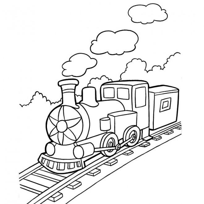 Dessin De Train Les Dessins Et Coloriage