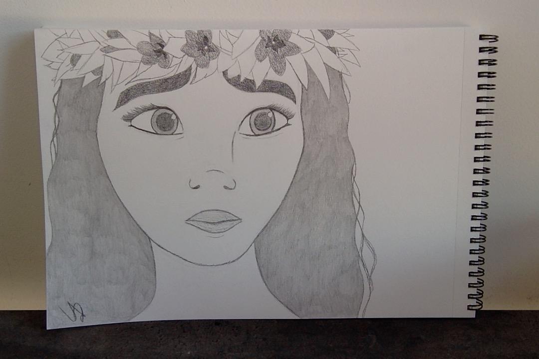 dessin de vaiana