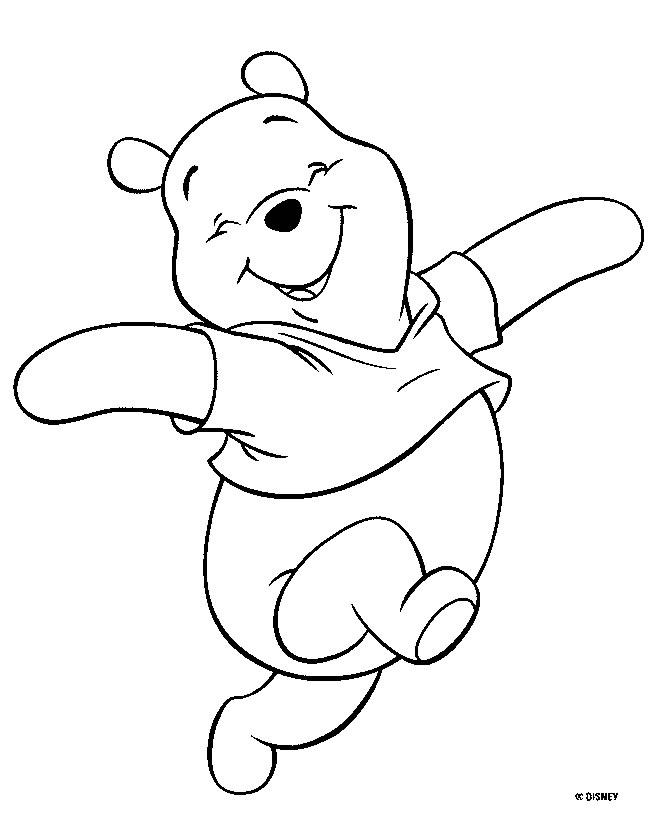dessin de winnie l'ourson