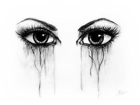 Coloriage Bebe Qui Pleure.Dessin De Yeux Qui Pleure Les Dessins Et Coloriage