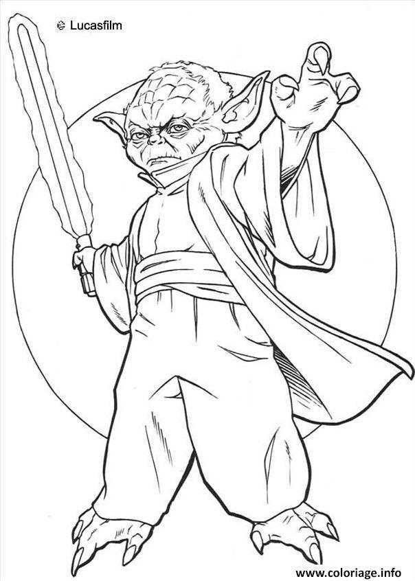 dessin de yoda