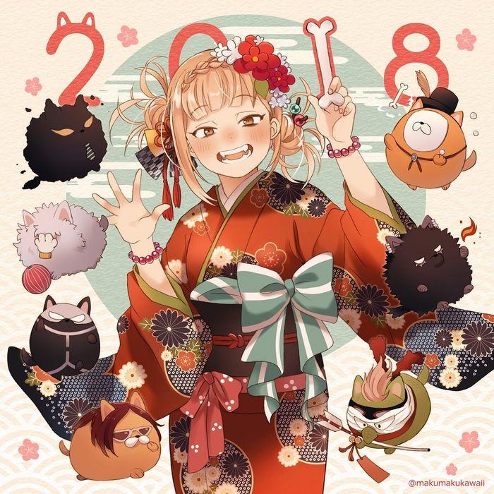 dessin manga 2018