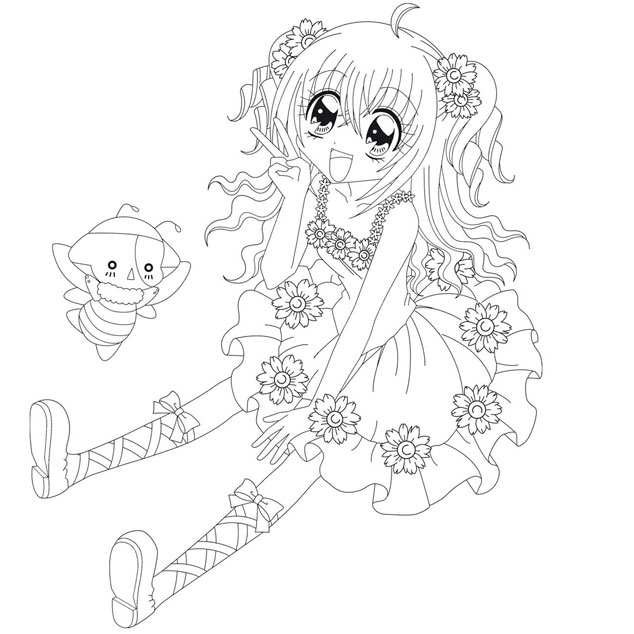 dessin manga a colorier en ligne