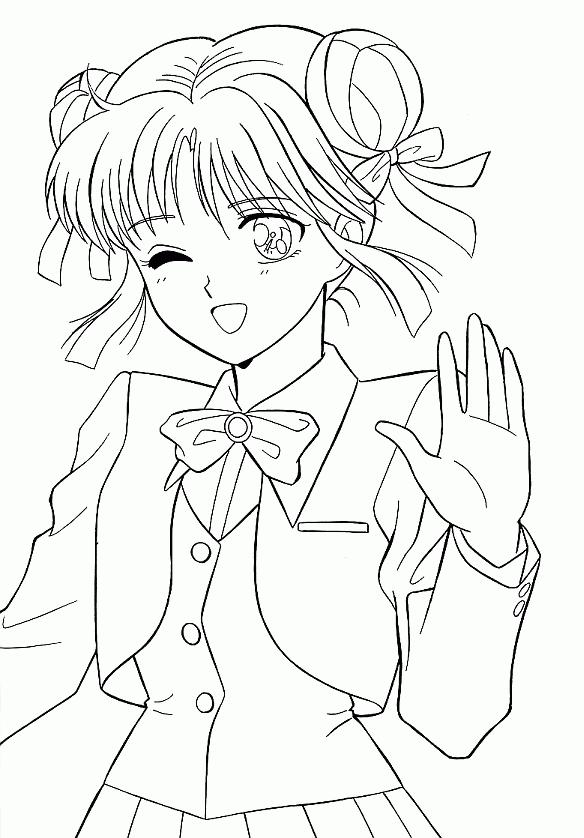 Dessin Manga A Imprimer Gratuit Les Dessins Et Coloriage