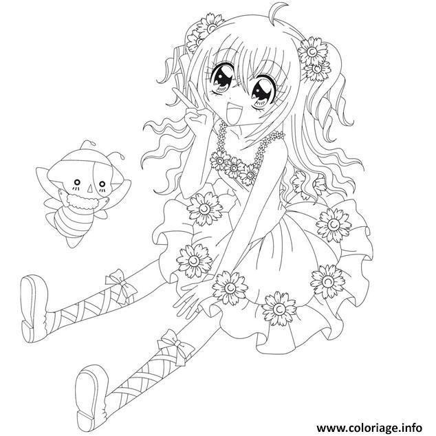 Coloriage Fille Manga Facile.Dessin Manga A Imprimer Gratuit Les Dessins Et Coloriage
