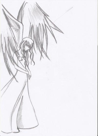 Dessin Manga Ange Les Dessins Et Coloriage
