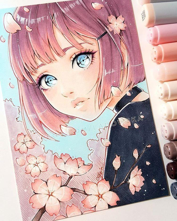 dessin manga beau