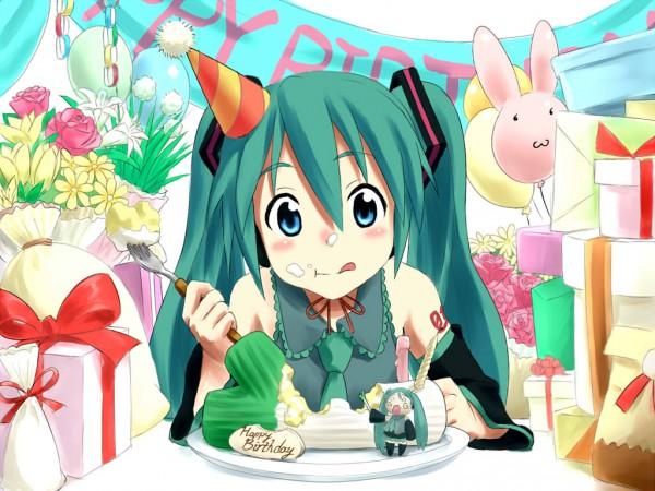 dessin manga bon anniversaire