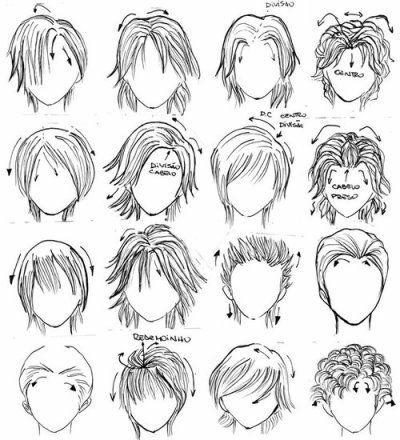 Dessin Manga Cheveux Les Dessins Et Coloriage