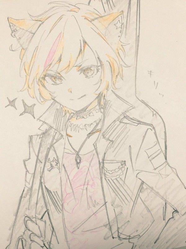 dessin manga couleur