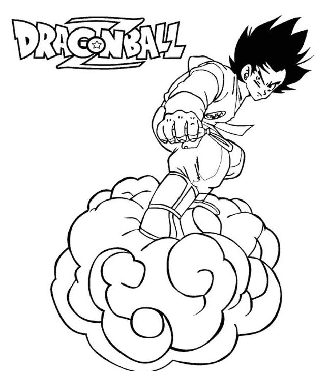 dessin manga de dragon ball z