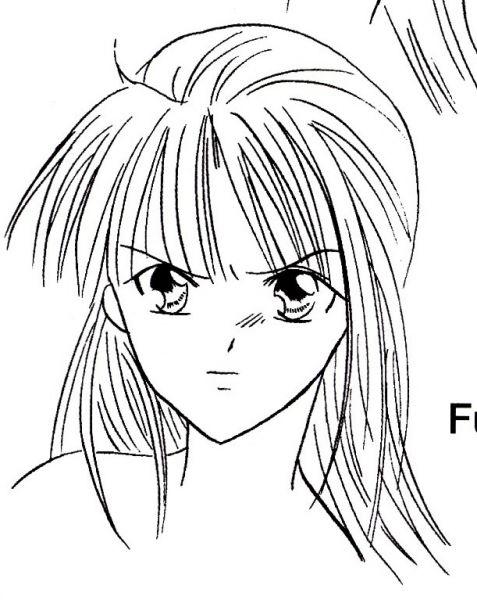 dessin manga en colere