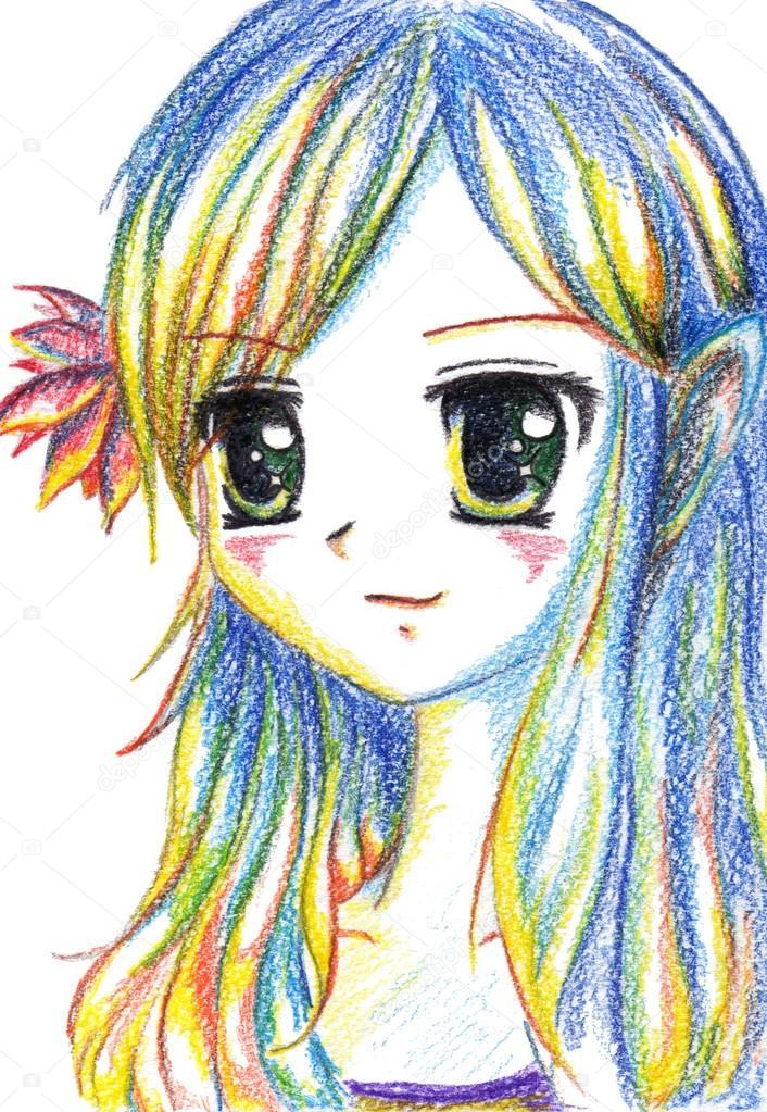 Manga Difficile Dessins Les Dessin Fille Et Coloriage Doxbrce