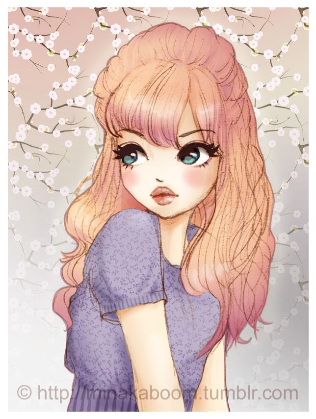 Dessin Manga Fille En Couleur Les Dessins Et Coloriage