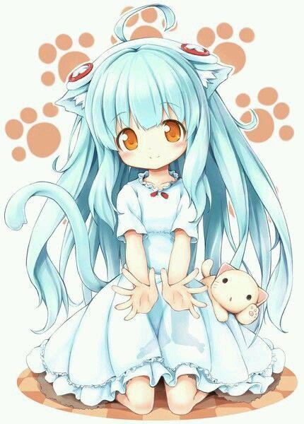 dessin manga fille licorne