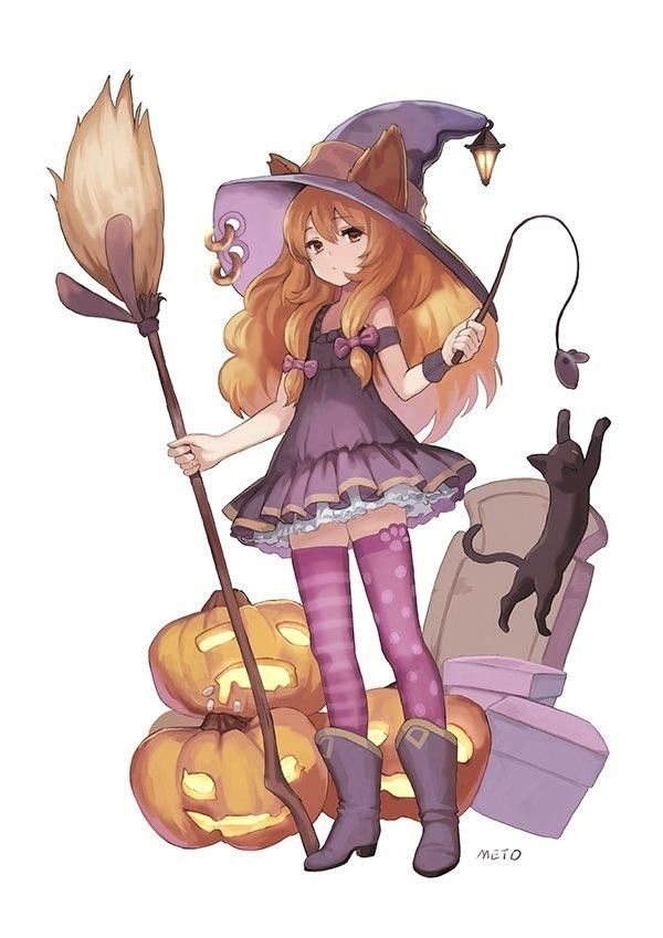 dessin manga halloween facile