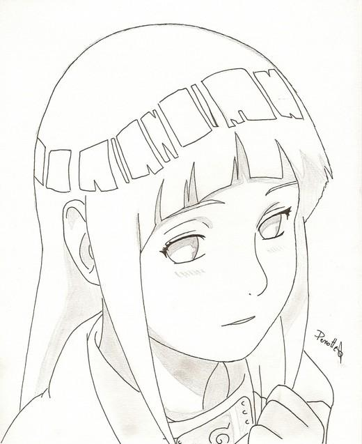 Dessin Manga Hinata Les Dessins Et Coloriage