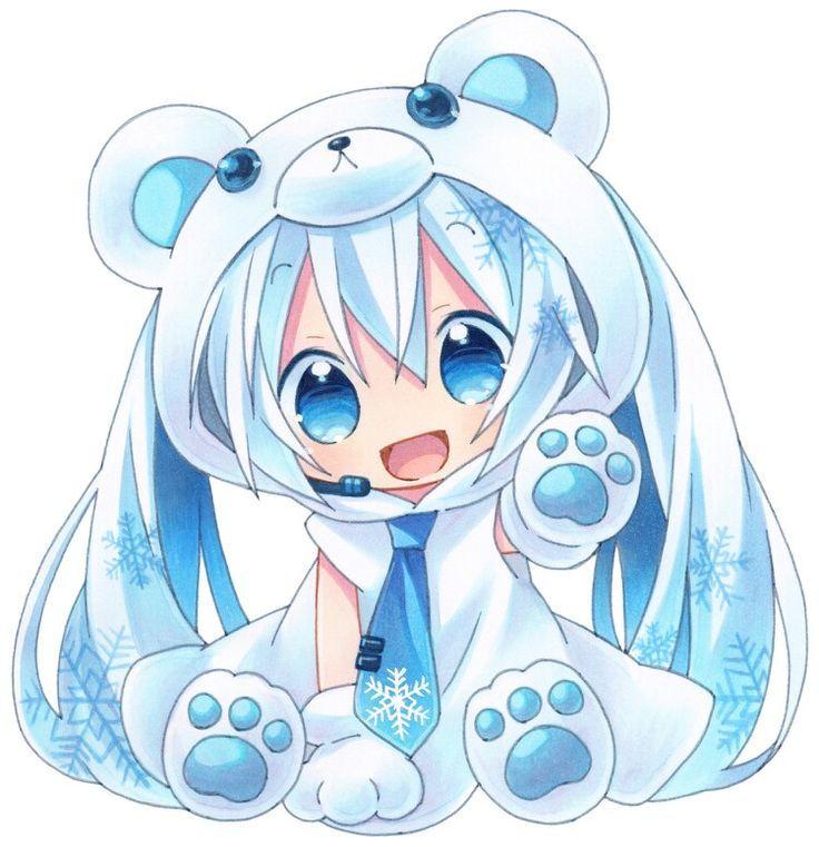Dessin Manga Kawaii Animaux Les Dessins Et Coloriage