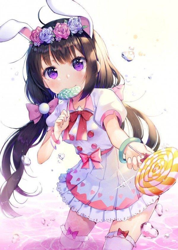 dessin manga kawaii fille