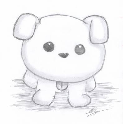 dessin manga mignon animaux