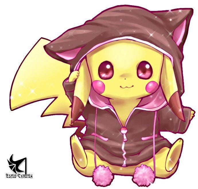 Dessin Manga Pikachu Les Dessins Et Coloriage