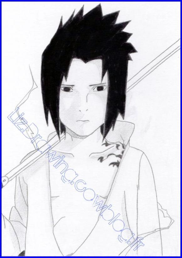 Dessin Manga Sasuke Les Dessins Et Coloriage