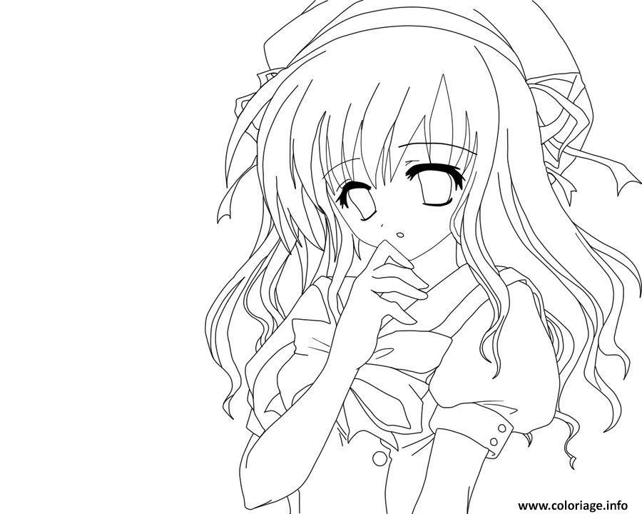 Dessin Manga Facile Fille Visage