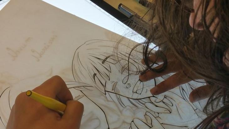 dessin manga toulouse