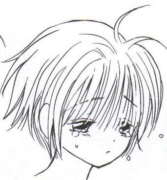 Dessin Manga Triste Facile Les Dessins Et Coloriage