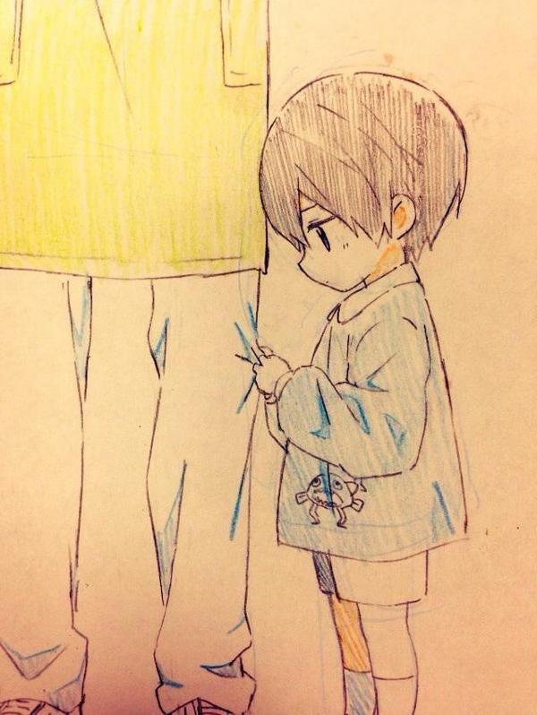 dessin manga trop mignon