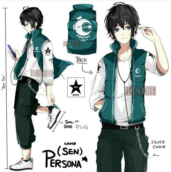dessin manga uniforme