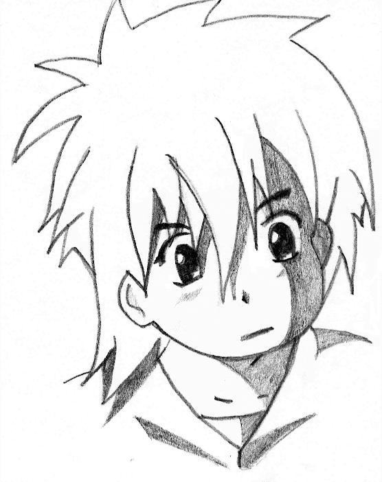 Dessin Manga Visage Garcon Les Dessins Et Coloriage
