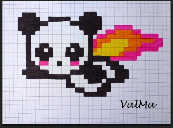 dessin pixel 2017