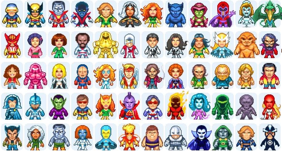 dessin pixel a colorier gratuit