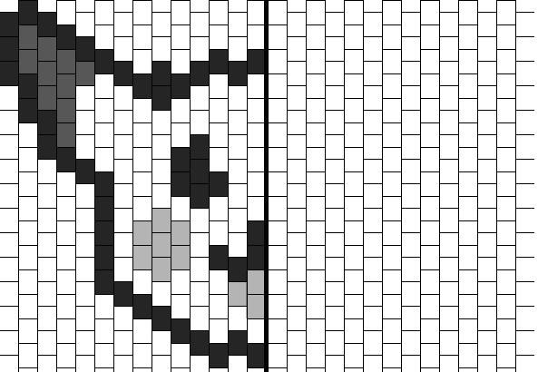 dessin pixel a colorier